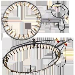 Горелки кольцевые для трубопроводов
