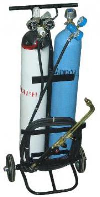 Комплект газосварочный переносной (ацетилен, 10л) ОСА-10