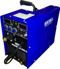 Cварочный полуавтомат моноблок BRIMA MIG/MMA-250-3 (380 В) с горелкой