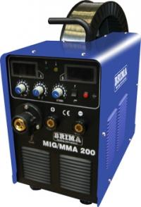 Cварочный полуавтомат инверторный одноблочный BRIMA MIG/MMA-200 (220 В)