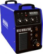 Cварочный полуавтомат инверторный одноблочный BRIMA MIG/MMA-160 (220 B)