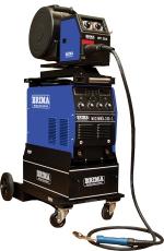 Cварочный полуавтомат BRIMA MIG/MMA-350-1 на тележке с подающим механизмом и горелкой (380 В)